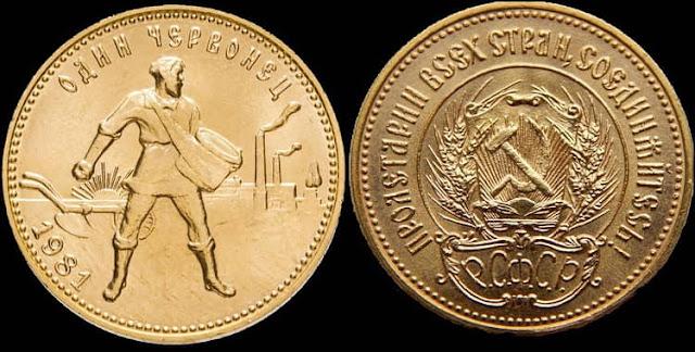 Инвестирование в монеты: Золотой Червонец (Сеятель)