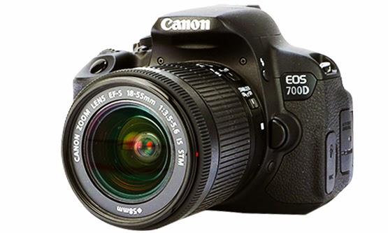 Harga dan Spesifikasi Camera Digital Canon EOS 700D Terbaru