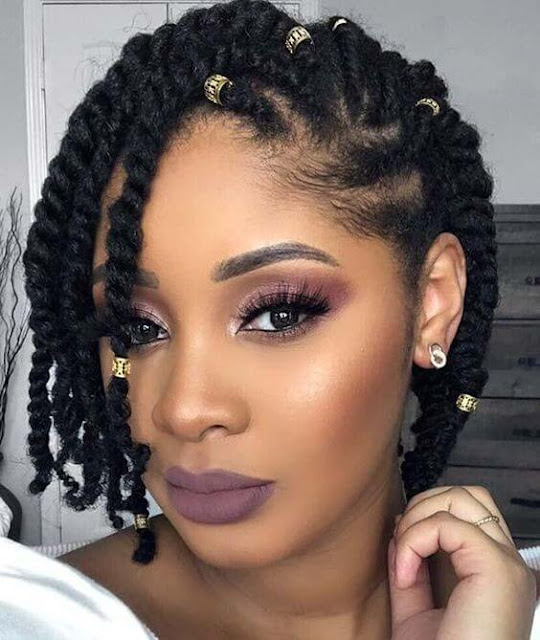 Need a hair idea for a special occasion 33+ Chunky Natural Black Hairstyles That Will Suit Everyone