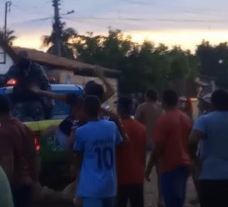 Idoso é morto a facadas em briga de bar no bairro Cariri; VEJA VÍDEO