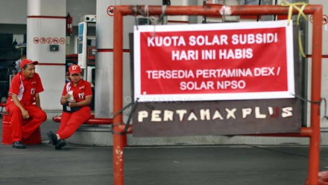 Subsidi BBM Turun Jadi Rp 500 per Liter di 2021