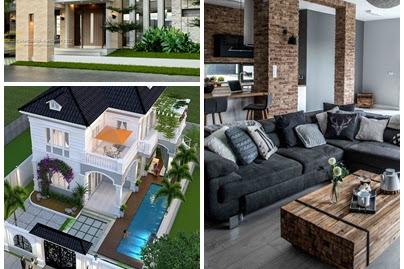 pengertian desain interior dan eksterior rumah