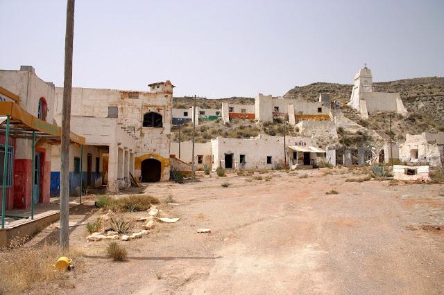 Pustynia Tabernas i plan filmowy