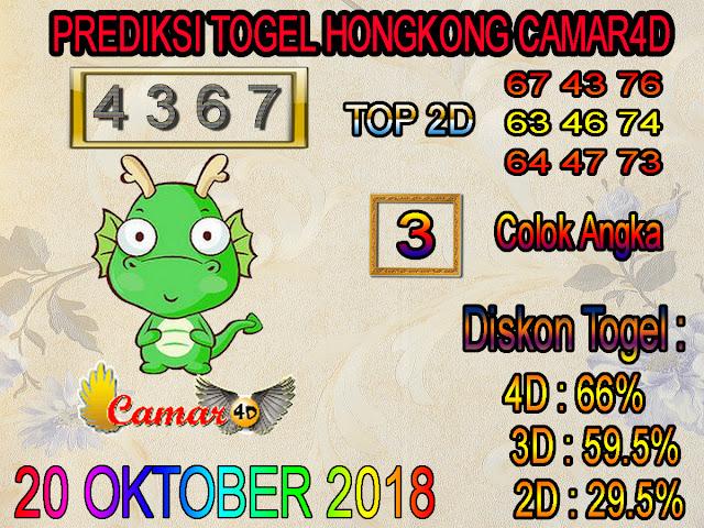 Prediksi Togel Hongkong 20 Oktober 2018