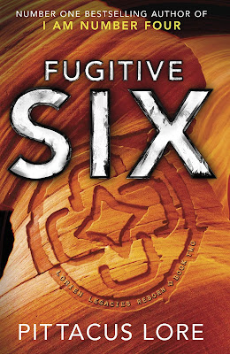 Fugitive Six by Pittacus Lore book cover