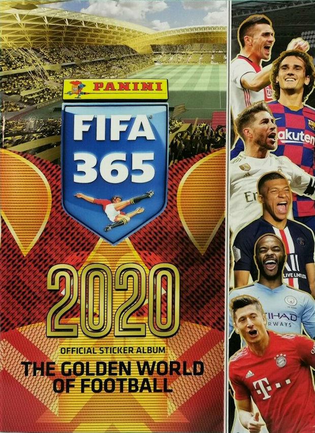 Panini Fifa 365 2020 Sticker 283 FC Spartak Moskva T-Shirt