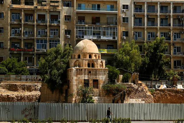 Damascus citadel restoration in progress, UNESCO to decide fate of Syrian heritage sites