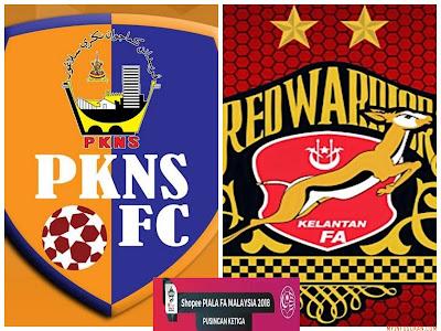 Live Streaming PKNS FC vs Kelantan Piala FA Malaysia 17 Mac 2018