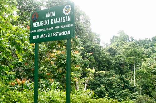 Wisata Alam Taman Nasional Bogani Nani Wartabone Bone Bolango