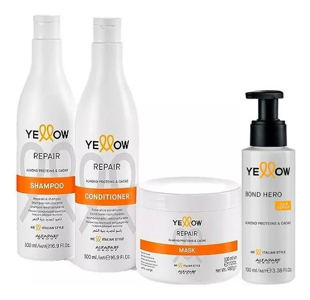 Yellow Repair Mask kit completo