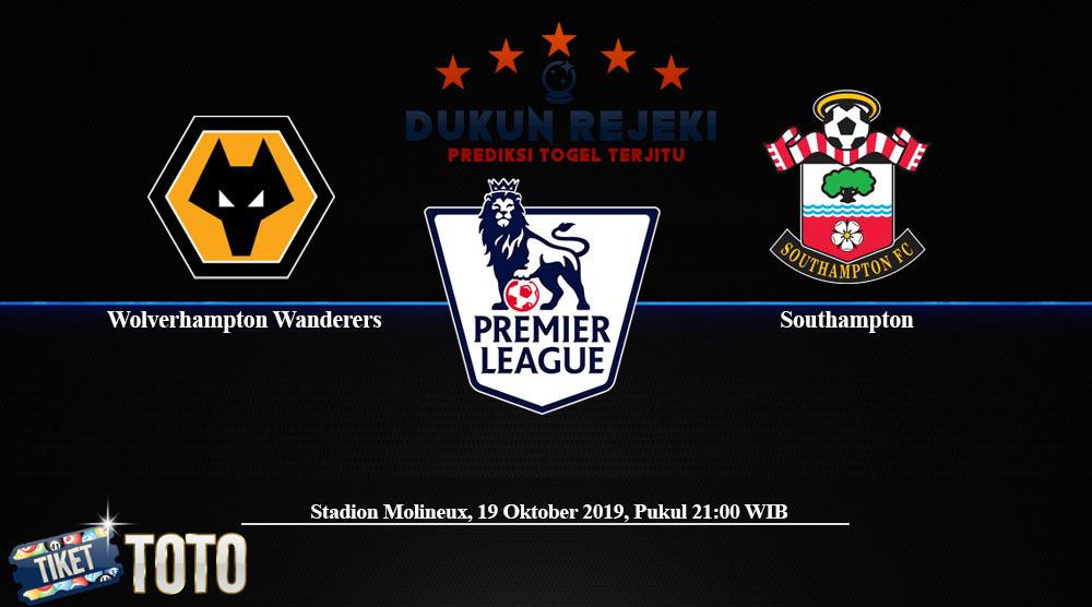 Prediksi Wolverhampton vs Southampton 19 Oktober 2019