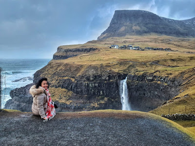 Mulafossur Waterfall Faroe Islands