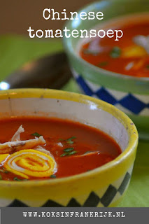 Recept voor Chinese tomatensoep zonder pakjes en zakjes