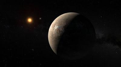 Proxima b estaría cubierto por un solo océano con 200 km de profundidad