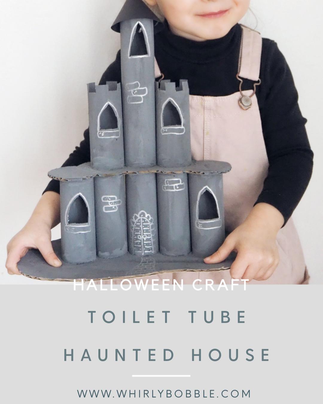 Toilet Tube Hallowen House