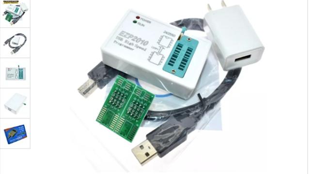 Como reprogramar eprom, gravar, apagar e salvar com ezp2010