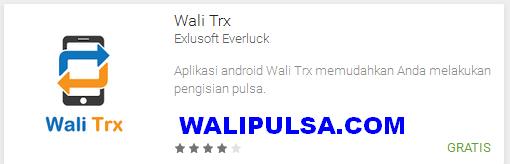 aplikasi android transaksi wali pulsa