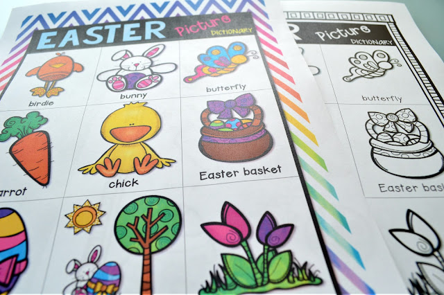 https://www.teacherspayteachers.com/Product/Easter-Activity-Pack-3085645