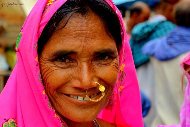 A woman Chandravali, UP