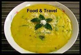 Pitla Recipe - Maharashtrian Pitla- Besan Pitla Recipe- pitla recipe Marathi