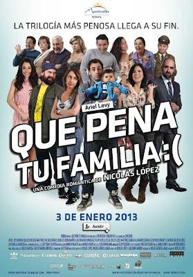 Que Pena Tu Familia – DVDRIP LATINO