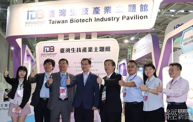 「臺灣生技產業主題館」開展當日,現場發表「2017生技產業白皮書」