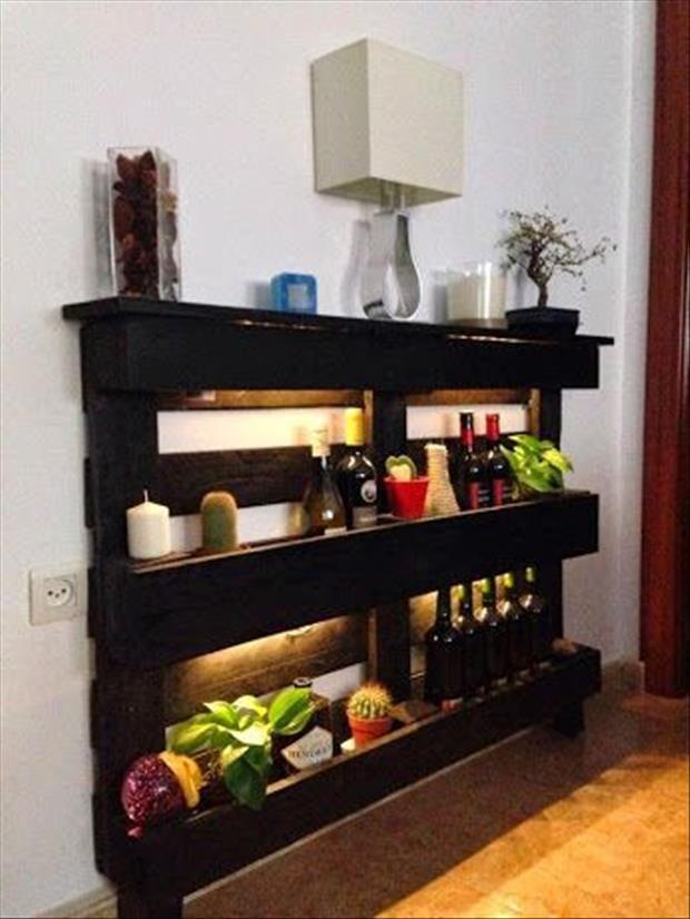 20 ideas con palets mi casa inventada - Ideas para palets ...