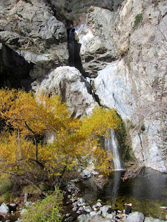 Fish Canyon Falls, Angeles National Forest, January 17, 2015