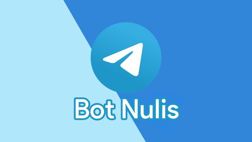 Cara Menggunakan Bot Nulis Telegram 2021