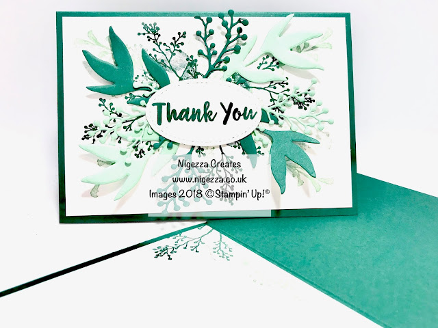 Nigezza Creates with Stampin Up First frost