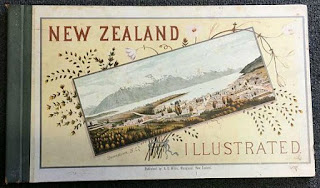 New Zealand Illustrated Book Cover