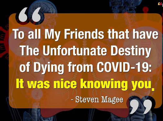 Coronavirus Quote for Friends