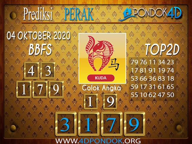 Prediksi Togel PERAK PONDOK4D 04 OKTOBER 2020