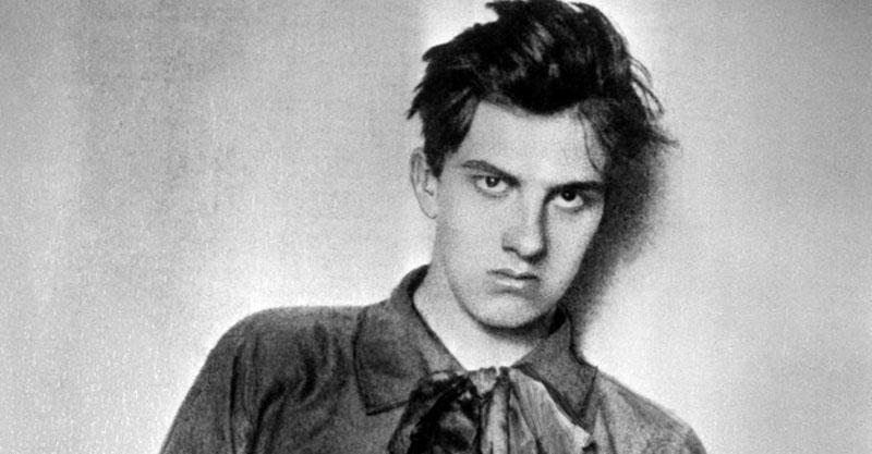 Владимир Маяковский в юности