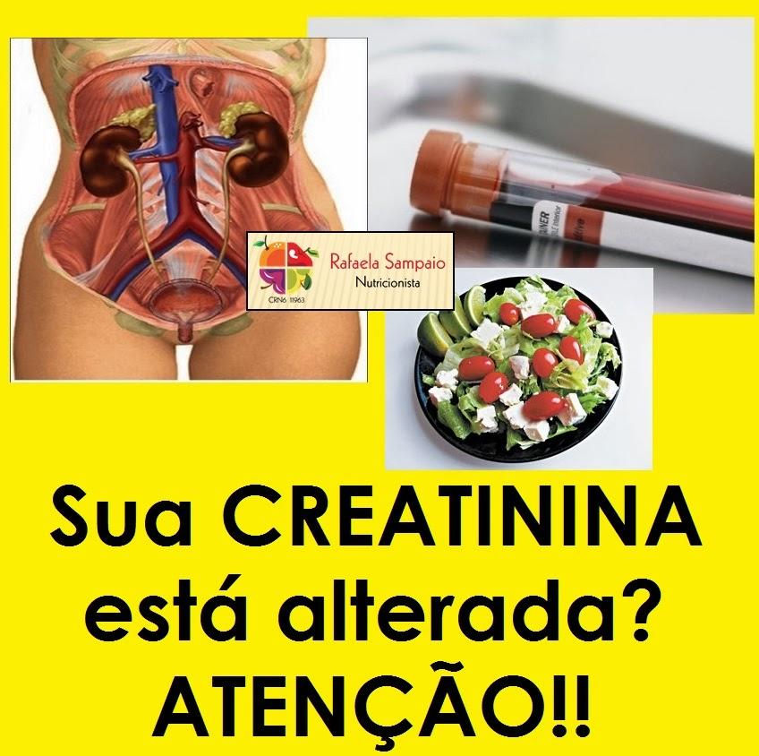 creatinina dieta