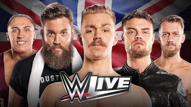 WWE United Kingdom 2017 Tour - Complete Schedule & Details.