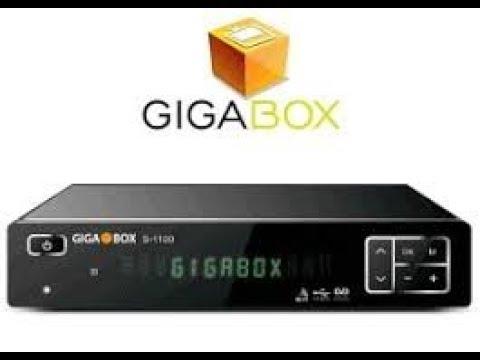 GIGABOX S1100 NOVA ATUALIZAÇÃO MODICIFADA SKS 61W - 21/02/2020