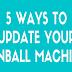 5 Ways to Update Your Pinball Machine #infographic