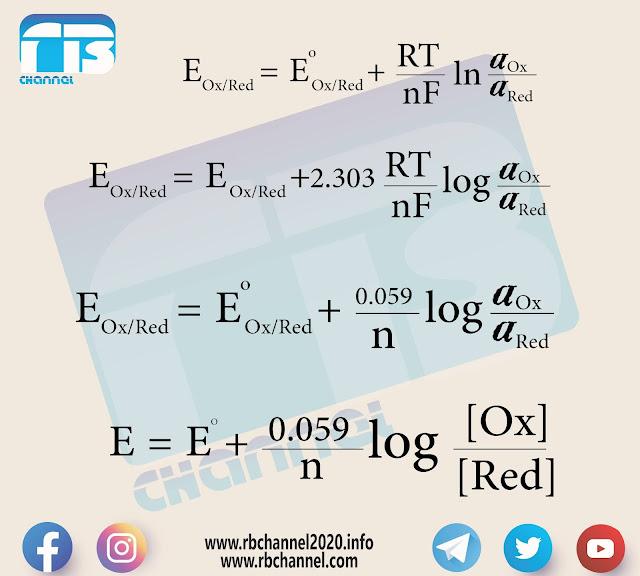 معادلة نرنست Nernst Equation