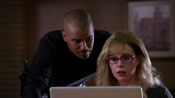 who is garcia dating on criminal minds