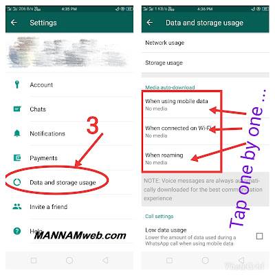 How to Stop Auto Downloading and Saving of Pictures, Videos and Other Media on Whatsapp for Android