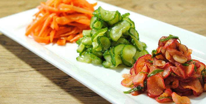 चायनीज गाजर-काकडीची कोशिंबीर - पाककला | Chinese Gajar-Kakadi Koshimbir - Recipe