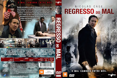 Filme Regresso do Mal DVD Capa