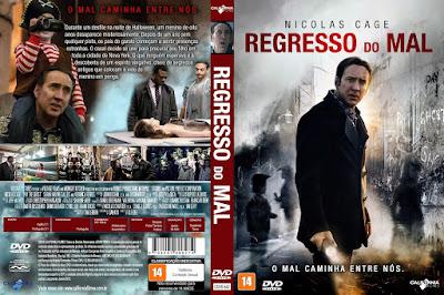 Filme Regresso do Mal DVD Capa