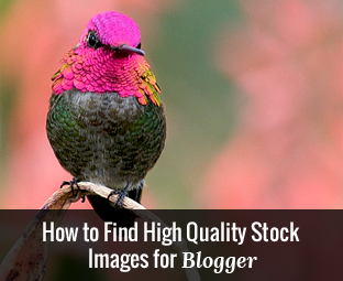 How to Find Free High Quality Stock Images for Blogger Posts