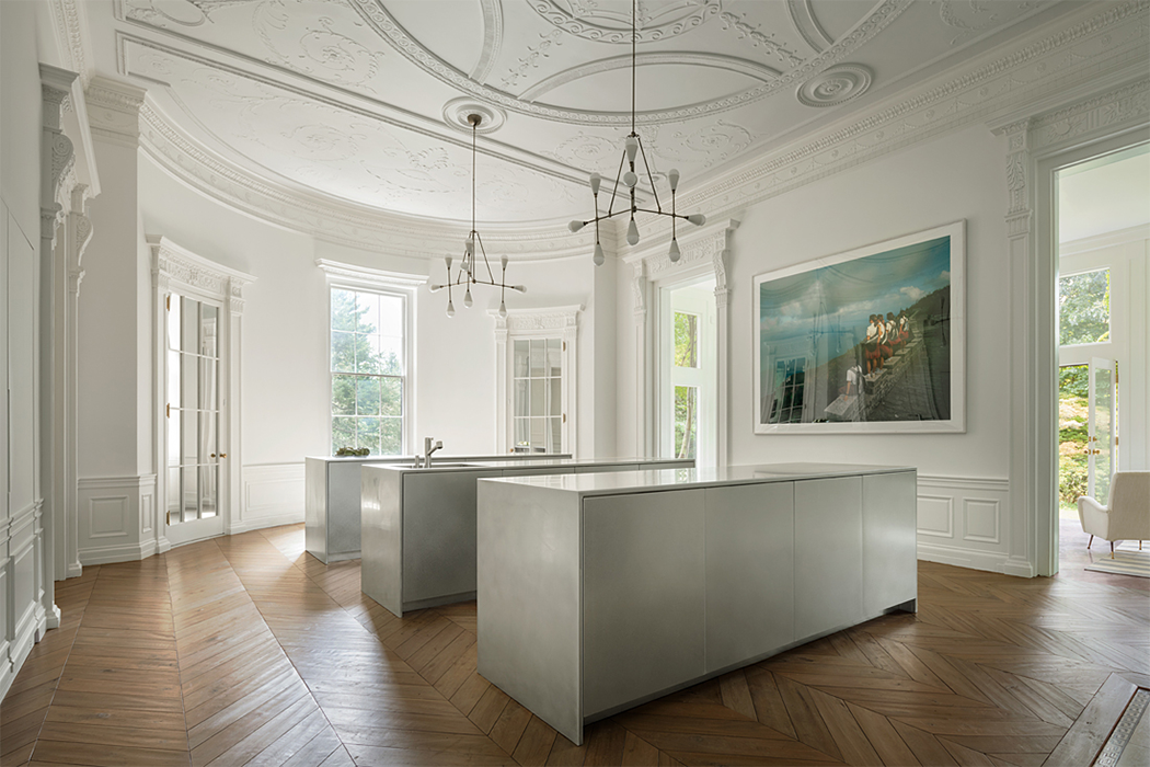 Décor Inspiration: Ornate Austerity in Boston by Steven Harris Architects