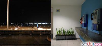 Pemandangan jendela & sudut ruang hotel ibis
