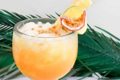 Passion Fruit Rum Punch