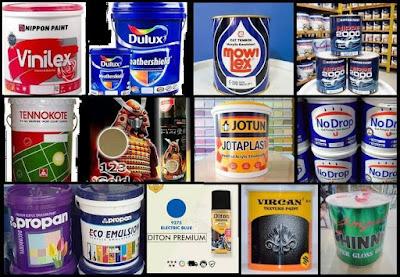 distributor - agen grosir cat Jakarta