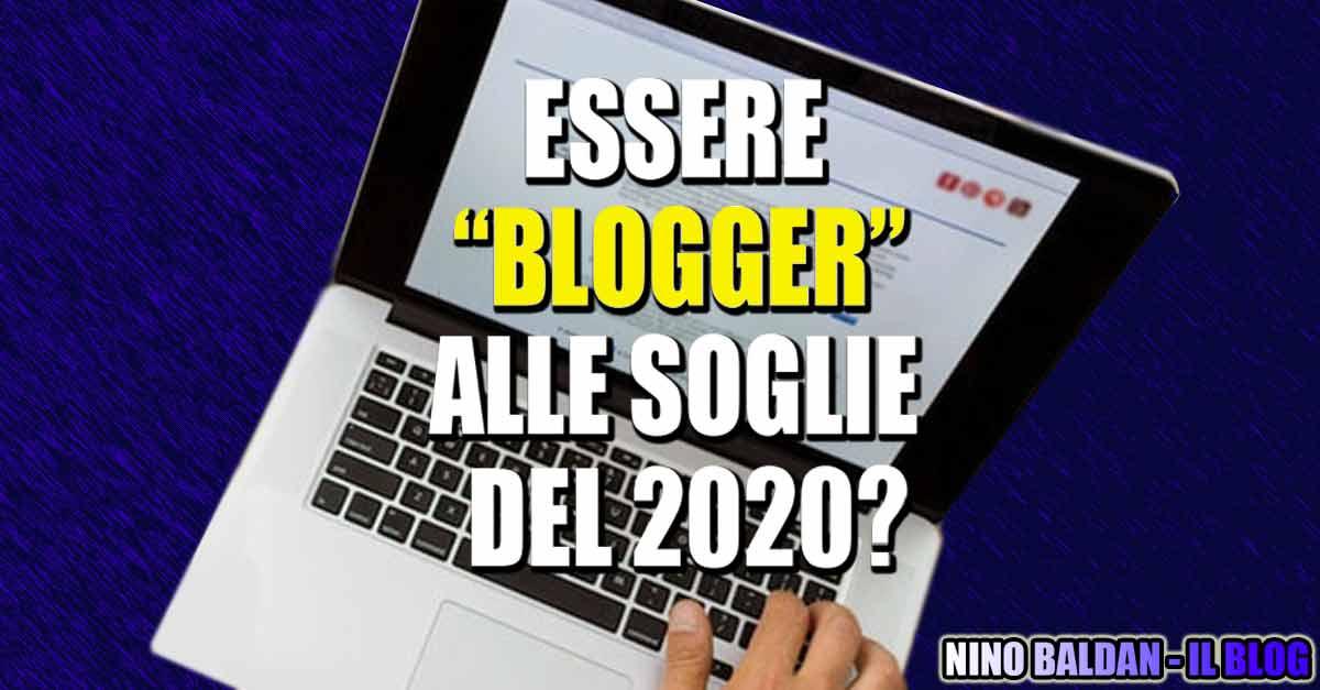 Essere ''blogger'' alle soglie del 2020? - il tag: la copertina